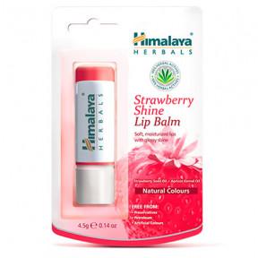 Strawberry lip balm with gloss Himalaya 4.5g