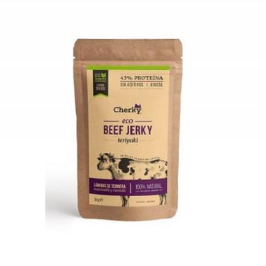 Beef Jerky Carne Curada Ecológica con Salsa Teriyaki Cherky 30g
