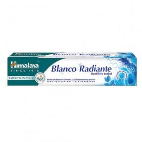 Dentífrico blanqueante en pasta Blanco Radiante Himalaya Herbals 75g