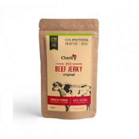 Beef Jerky Original Organic Cured Meat Cherky 30g