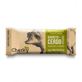 Barrita de Cerdo Ibérico con Mostaza y Manzana Cherky 35g