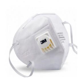 Mask with 3M valve and active filter mod. 9010V N95 standard