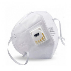 Mascarilla con filtro activo y válvula 3M mod. 9010V norma N95