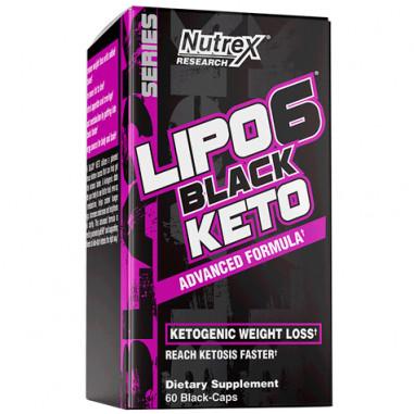 Lipo 6 Black Keto 60 capsules Nutrex Research