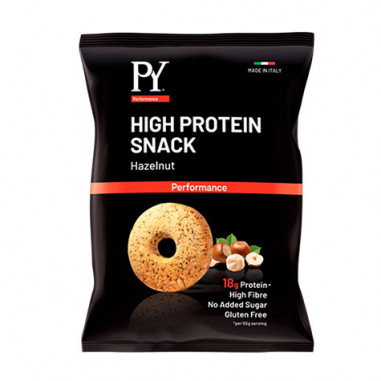 Snack proteico sabor Avellanas Pasta Young 55g