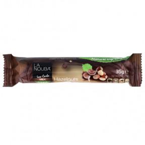 LaNouba Low Carb Milk Chocolate and Hazelnuts with Stevia bar 35 g