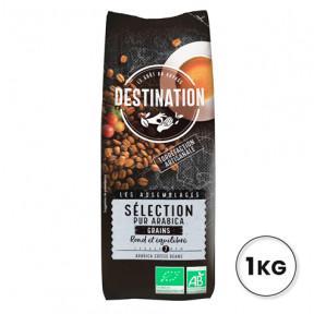 100% Arabica Organic Coffee Bean Selection Destination 1kg