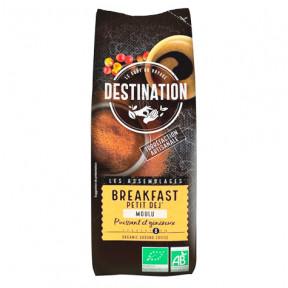 Breakfast Ground Organic Coffee 100% Arabica Destination 250g