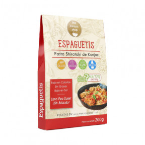 Espaguetis de Konjac The Konjac Shop 200g
