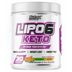 Lipo 6 Keto Cucumber-Melon for weight loss Nutrex Research 288g