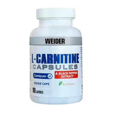 Extrato de pimenta preta+ L-Carnitina Weider 100 cápsulas