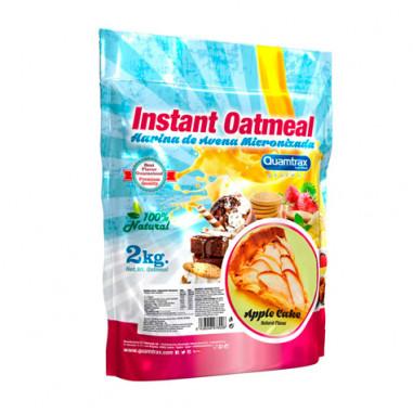 Quamtrax Apple cake Flavored Oatmeal 2Kg
