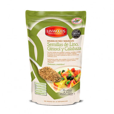 Graines biologiques de tournesol et de citrouille Linwoods 200 g