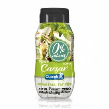 Sauce César 0% calories Quamtrax Gourmet 330ml