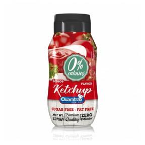 Molho Ketchup 0% de calorias Quamtrax Gourmet 330ml
