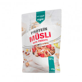 Protein cereals with Muesli with red fruits from Fit4Day 375g