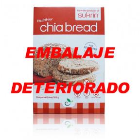 Preparado para Elaborar Pan de Chia y Cáñamo Sukrin 250 g (Chiabrød) - OUTLET