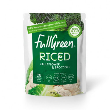 Cauli Rice Arroz de Coliflor y Brócoli FullGreen Riced 200g