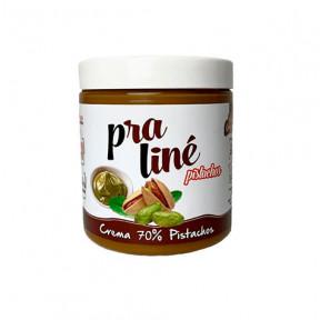Creme protéico de praliné com pistache 70% Protella 200g
