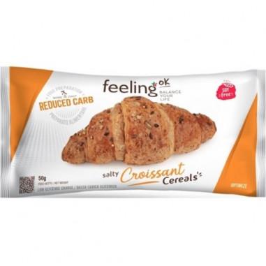 Croissant Salgado com cereais FeelingOk Optimize 1 unidade 50 g