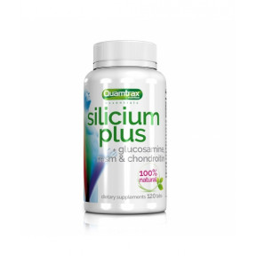 Silício com glucosamina, msm e condroitina Quamtrax 120 comprimidos