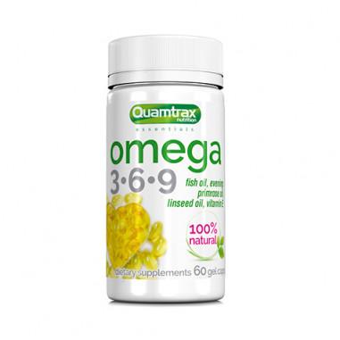 Omega 3-6-9 Quamtrax Essentials 60 softgels