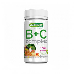 Complejo de Vitaminas B+C Quamtrax Essentials 60 cápsulas