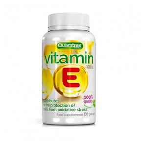 Vitamina E Quamtrax Essentials 60 cápsulas blandas