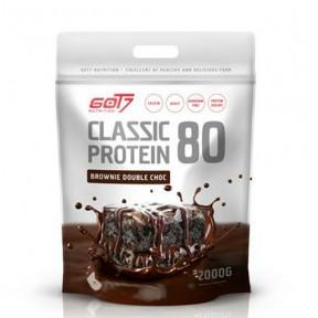 Classic Protein 80 Brownie Saveur Double Chocolat Got7 2Kg
