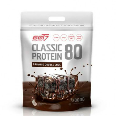 Classic Protein 80 Sabor Brownie Doble Chocolate Got7 2kg