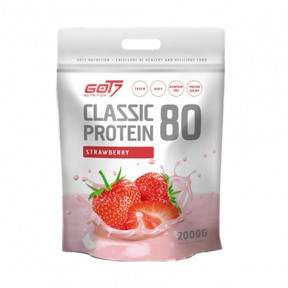 Classic Protein 80 Strawberry Flavour Got7 2Kg