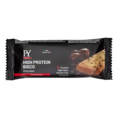 Galleta proteica High Protein Bisco sabor Chocolate Pasta Young 37g