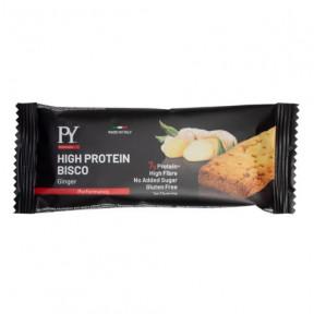 Biscoito proteico de Gengibre High Protein Bisco Pasta Young 37g
