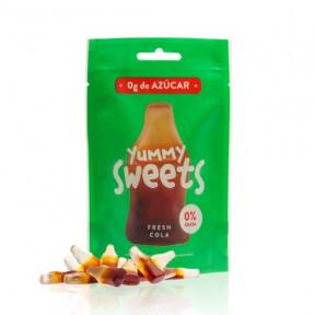 Doces sem açúcar Yummy Sweets Fresh Cola 50g