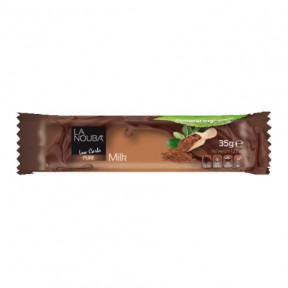 Chocolatina Low-Carb de Chocolate con leche LaNouba 35 g