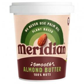 Manteiga de amêndoa amolecida Meridian Smooth 454g