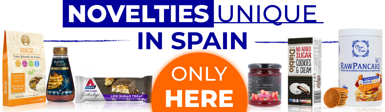 Discover the unique novelties in Spain of healthy products by clicking here