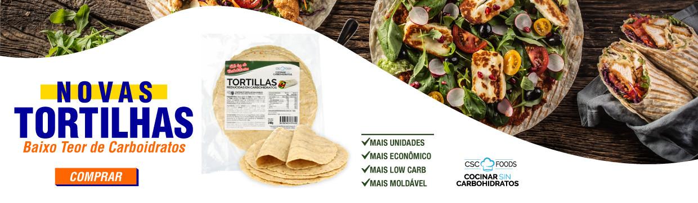 Novas Tortilhas Low Carb