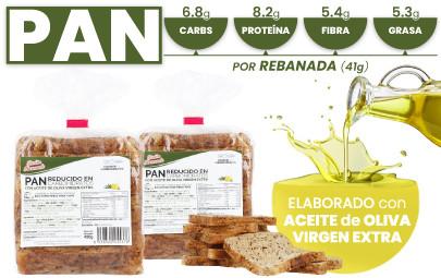 Pan de molde bajo en carbohidratos y rico en fibra y proteína de CSC Foods, Cocinar sin Carbohidrato